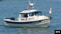 Un bote de los servicios guardacostas de EEUU.