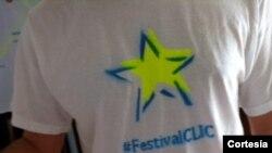 twitpic yoanisanchez Logo de FestivalCLIC hecho por El Sexto