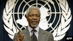Kofi Annan, ex secretario General de Naciones Unidas.