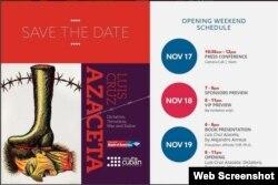 Calendario de apertura del Museo Americano de la Diáspora Cubana (Detalle).