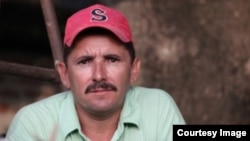 Eliecer Palma Pupo, opositor residente en San Germán, provincia Holguín/ Foto: L. Felipe Rojas.