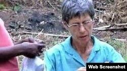 La monja española Inés Nieves Sancho, que fue decapitada en la República Centroafricana el lunes 20 de mayo de 2019.
