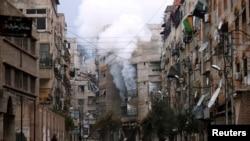 El barrio de Zamalka en Damasco.