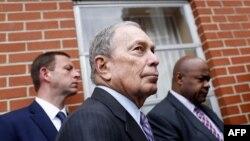 El exalcalde de Nueva York Michael Bloomberg, en una foto tomada el domingo 1ro. de marzo del 2020 en Alabama (Foto: Joshua Lott/AFP).