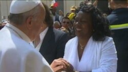 """El Papa Francisco a las Damas de Blanco: """"sigan adelante"""""""