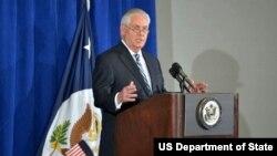 Secretario de Estado Rex Tillerson