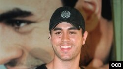 El cantante español Enrique Iglesias. Foto de Archivo.