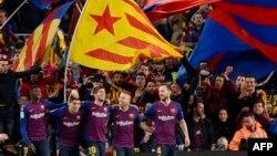 FC Barcelona vs Real Madrid en el Camp Nou, el 28 de octubre de 2018.