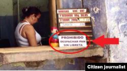 Reporta cuba racionamiento foto Yusnaby Perez