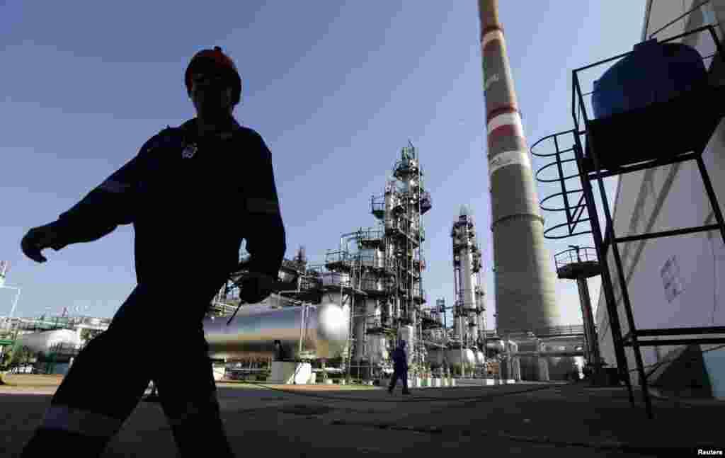 La refinería de Cienfuegos.