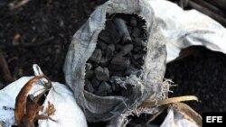 Detrás de las bolsas listas de carbón vegetal se esconde la terrible historia del trabajo forzado en Cuba.
