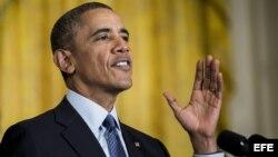 Presidente de Estados Unidos, Barack Obama.