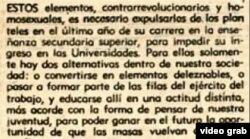 """""""Los que la pasaban peor eran los homosexuales"""", dice Milanés en el documental refiriéndose a los campamentos de las UMAP."""