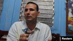 El líder de la Unión Patriótica de Cuba (UNPACU), José Daniel Ferrer, en una foto de archivo.