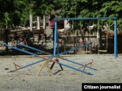 Reporta Cuba parque infantil Holguín foto Luis Lázaro Guanche