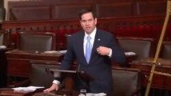 Marco Rubio pide ante el Senado solidaridad con el opositor cubano Eduardo Cardet