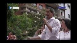 Discurso del presidente encargado Juan Guaidó durante la concentración del 16 de noviembre
