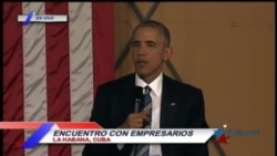 "Consejo de Obama a emprendedores cubanos: ""No roben ideas de donde no funcionan"""