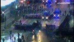 Disturbios entre hinchas radicales y policía en Buenos Aires