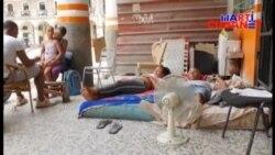 Desalojan de forma violenta a familia en La Habana
