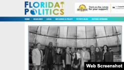 "La noticia en ""Florida Politics""."