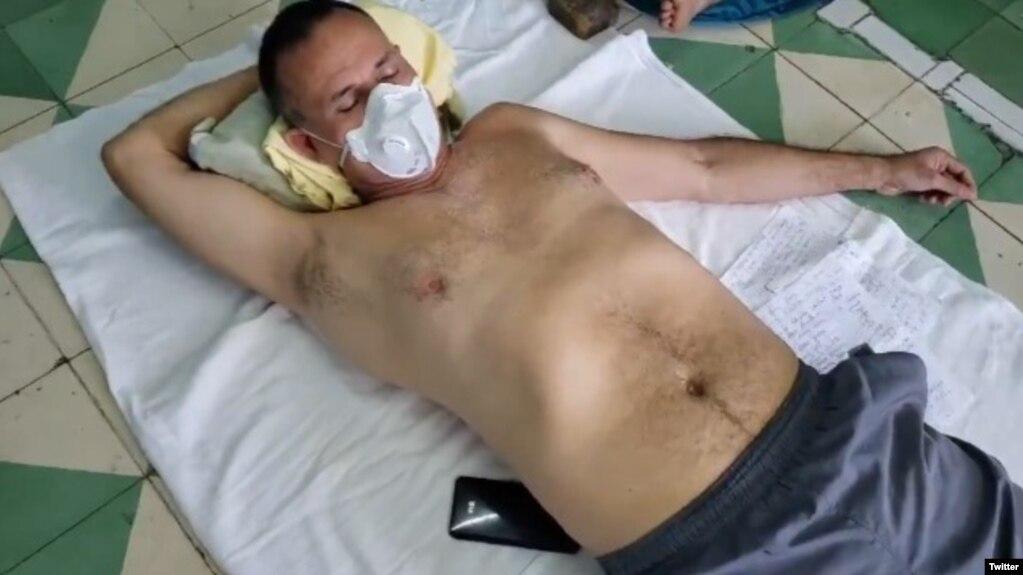 Huelga de hambre de UNPACU continúa. (Captura de video/Twitter)