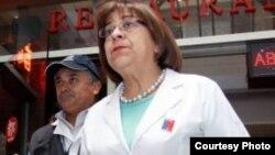 Rosa Oyarce, secretaria regional de Salud de Santiago de Chile