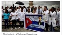 Médicos de #NoSomosDesertores dirigen campaña a Díaz-Canel