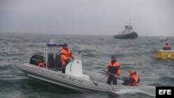 Russian Tu-154 plane crash in Black Sea