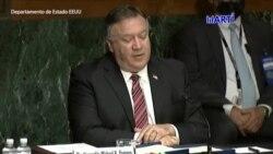Secretario de Estado de EEUU discute temas de Venezuela y China