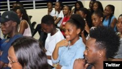 Estudiantes namibios en Cuba. (Foto: NamisoCuba)