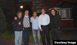 VISTA en Bogotá: Rafael Vilches, Armando de Armas, Luis P. de Castro, Faisel Iglesias y Armando Añel
