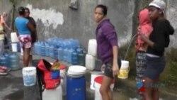 Venezuela: Solo el 25 % de residentes de Caracas recibe agua potable
