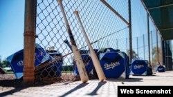 Foto tomada del twitter de Los Dodgers.