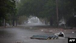Inundaciones provocadas por Florence.