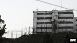 Vista de la cárcel militar de Ramo Verde, ubicada en las afueras de Caracas (Venezuela)