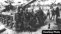 Cubanos veteranos de la guerra de Angola