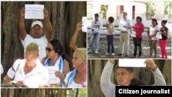 La campaña #TodosMarchamos el domingo 4 de octubre.