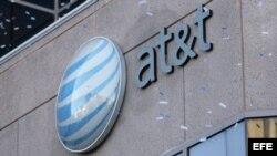 Compañía telefónica AT&T.