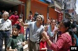 Los nepalíes se lanzaron a las calles.