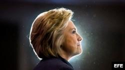 La candidata demócrata a la Casa Blanca, Hillary Clinton.