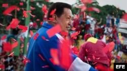 Chávez celebra la victoria