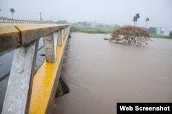 Lluvias afectan a la agricultura en Pinar del Rio
