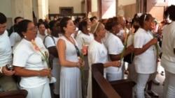 Aumentan control y detención de Damas de Blanco que asisten a misa