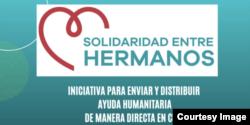 """Logo de la iniciativa """"Solidaridad entre Hermanos""""."""