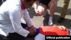 Fernando González murió mientras recibía atenciones médicas enun centro de salud local.