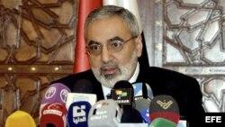El ministro sirio de Información Omran al-Zoubi.