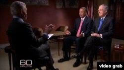 Los senadores republicanos Mitch McConnell y John Boehner comentan sobre la nueva política de Obama hacia Cuba.