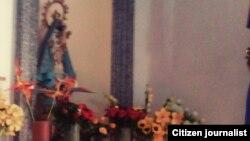Reporta Cuba Virgen de la Caridad Cabaiguán foto Bárbara Viera