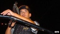 Foto de archivo de la Policía Federal Preventiva de México